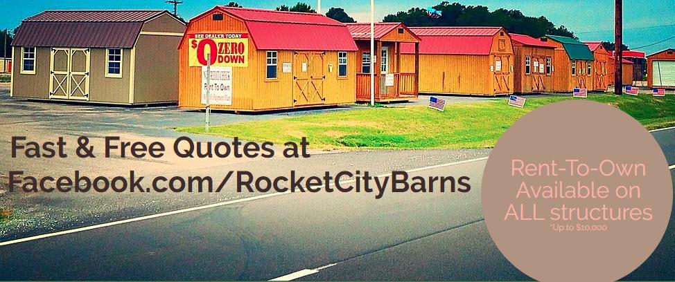 Rocket City Barns Joins Alabama Biz Finder Alabama Biz